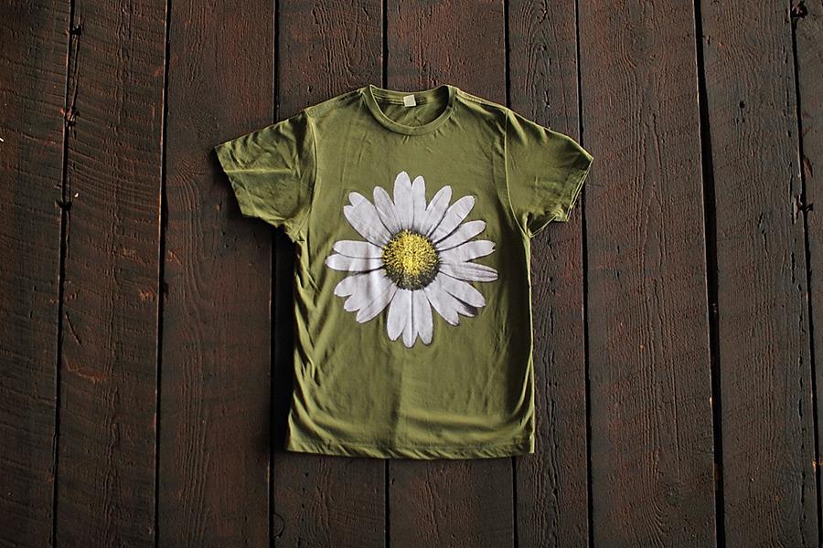 custom, flower, tshirt, ladies, sunflower